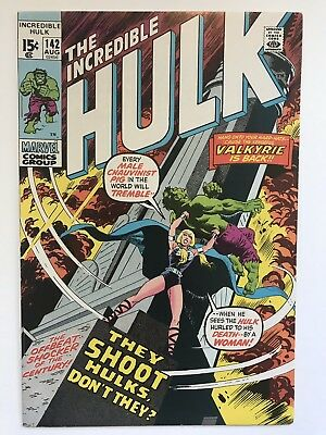 Incredible Hulk 142 - 2nd Appearance Valkyrie