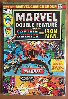 Marvel Double Feature #2 (Feb 1974, Marvel)  Free shipping!