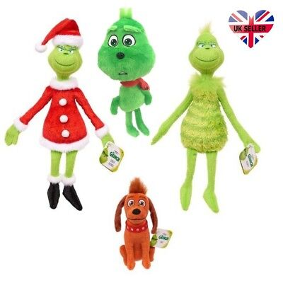 UK How the Grinch Stole Christmas Stuffed Plush Toys Grinch Best Kids Xmas Gifts