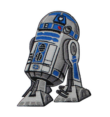 Star Wars R2D2 Embroidered Iron On Patch - Droid Robot Official 134