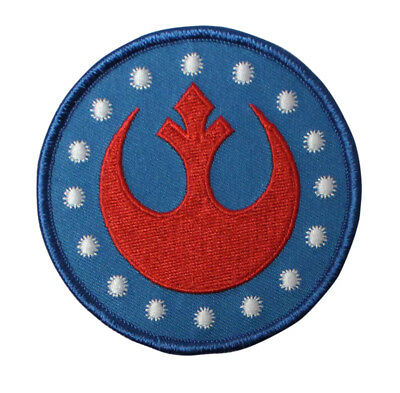 star wars rebel alliance embroidered iron on patch symbol icon