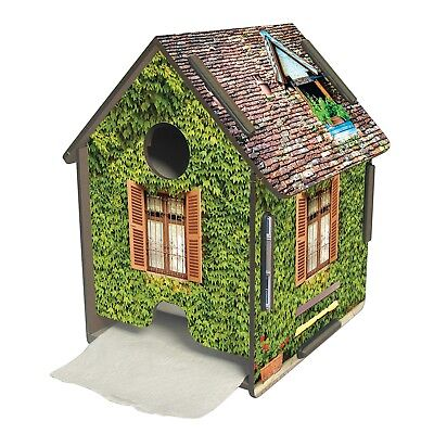 Realistic Ivy Covered House Toilet Paper Holder - Toilet Tissue Roll Cover