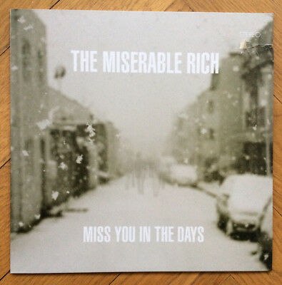 The Miserable Rich - Miss you in the days, Vinyl LP