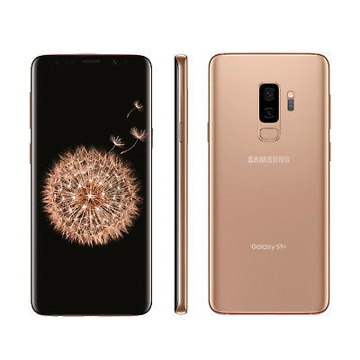 New Samsung Galaxy S9 Plus 64GB Gold Dual Sim Unlocked - Free UK Delivery