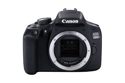New Canon EOS 1300D 18.0MP Digital SLR Camera - Black  UK Model (Body Only)
