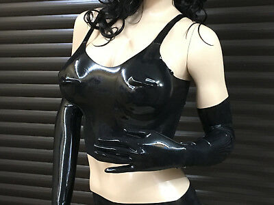 LATEXVERTRIEB - Latex BH Lang mit Cups ( Bra long )