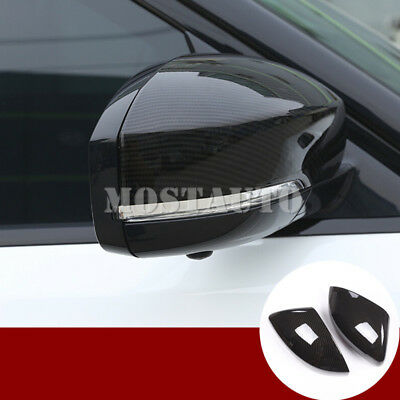 For Land Rover Range Rover Sport Carbon Fiber Style Rearview Mirror Cover(14-19)
