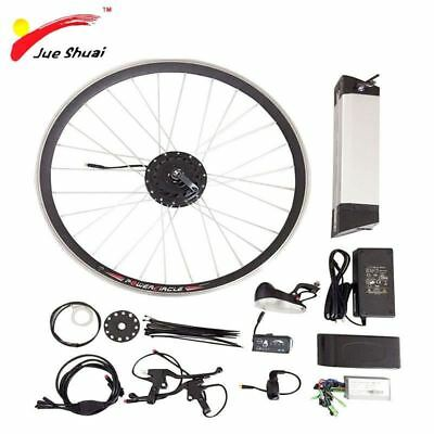 "36V 250W - 500W Electric Bike Kit for 20"" 26"" 700C Wheel Motor Kettle Battery"