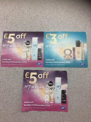Boots No7 Vouchers - £13 Off -  Valid Until 2nd December - Skincare & Cosmetics