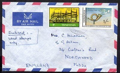 Tanzania - 1982 Airmail Cover to England