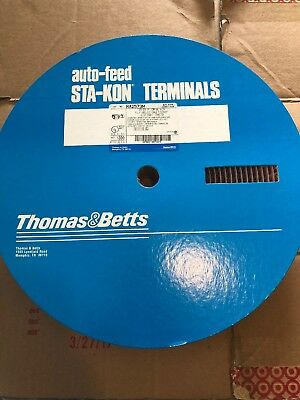 Thomas & Betts RA2573M Female Terminal Wire Crimp Connectors Auto Feed 22-18 AWG