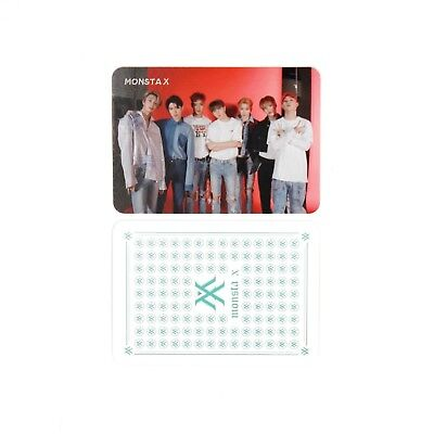 [MONSTA X] Take.1 'ARE YOU THERE?' Album Official Group Photocard-4/MONSTAX
