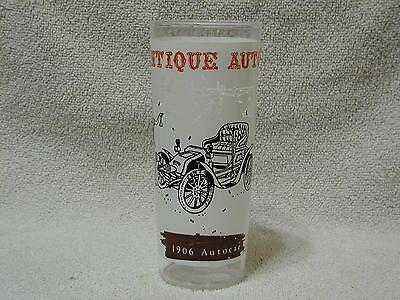 Anchor Hocking Antique Auto Glass 1906 Autocar