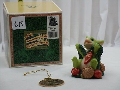 Pocket Dragons by Real Musgrave - NIB - PD615 - Deck The Halls