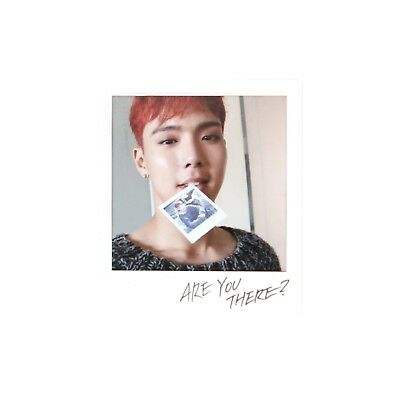 [MONSTA X]Take 1.'ARE YOU THERE?' Official Polaroid Photocard-SHOWNU/MONSTAX