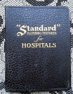 Antique Standard Plumbing Fixtures For Hospitals Catalog- Morgue- Hydro Therapy+