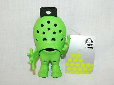 """CROCS Croslite Guy Lime Green Advertising Figure 5"""" New with Tags RARE"""