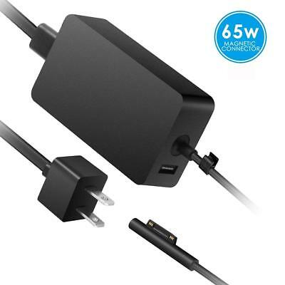 Charger for Surface Pro 3/4/ 5, 65W 15V 4A AC Power Supply Adapter for Microsoft