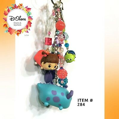 Disney Monsters Inc Theme Handmade Keychain/ Charm Different Characters