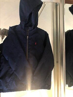 Polo Ralph Lauren Boys Jacket Navy Size 7