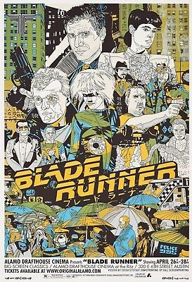 Blade Runner - Mondo Movie Poster Print - Wall Art - Buy 2 Get 1 Free