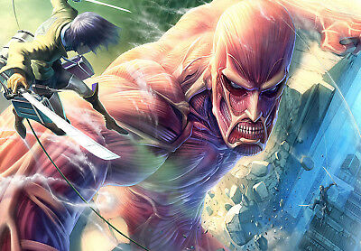Attack On Titan Poster Print - Wall Art - Buy 2 Get 1 Free