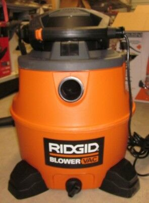 Ridgid 16 Gallon Wet/Dry Vac with Detachable Blower WD1681 Shop Vac