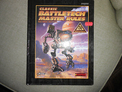 Classic Battletech Master Rules hardcover
