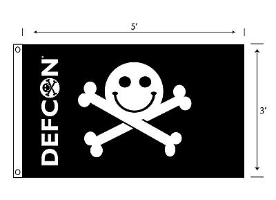 DEF CON Pirate flag 3' x 5'