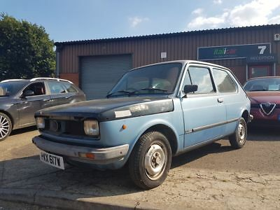 Fiat 127 1050 CL PROJECT - running and mot'd