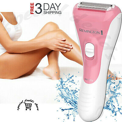 Electric Cordless Wet Dry Body Shaver Pubic Hair Removal Trimmer Razor For Women