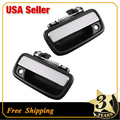Outside Pair Front Door Handle for 95-04 TOYOTA TACOMA    Truck,Chrome AST