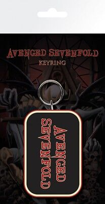 Avenged Sevenfold - A7X Logo Afterlife Keychain Keyring (6x3in) #88163