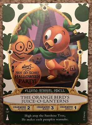 (2018) Mickey's Not So Scary Halloween Party-Sorcerers Of The Magic Kingdom Card