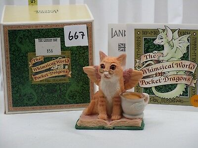 Pocket Dragons by Real Musgrave - NIB - PD667 - The Library Cat