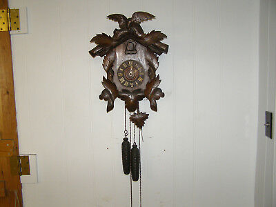 American Coo Coo Clock with Austrian movement, runs well