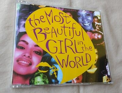 Prince 'the Most Beautiful Girl In The World' Cd Single