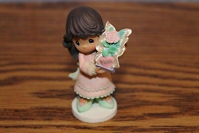 "2004 Precious Moments Brunette Mom Figurine ... ""Mom, You're One of a Kind"""