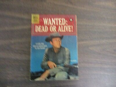 DELL WESTERN ADVENTURE COMIC BOOK  WANTED:DEAD OR ALIVE #1164 STEVE McQUEEN
