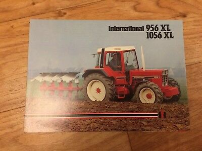 INTERNATIONAL 956XL & 1056XL TRACTOR SALES BROCHURE Case, Ford Barn Find