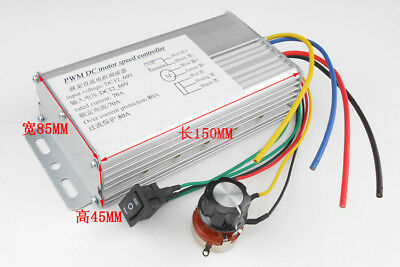 DC 10-60V 70A 4000W High Power DC Motor Speed Controller Brush Motor Controller