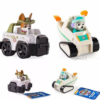 Paw Patrol Rescue Racer Everest Snow Blower, And Jungle Tracker Rescue Racer