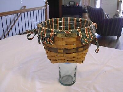 1994 Longaberger Christmas Jingle Bell Basket