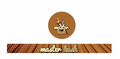 10x Master Kush Presstin 100ml Cali Tin Labels