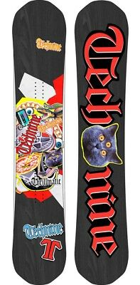 BRAND NEW Technine TRILLMATIC Snowboard 152cm BLACK LIMITED RELEASE F18 TECH9