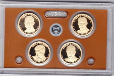 2015 S PROOF PRESIDENTIAL DOLLAR SET COINS ONLY  No Reserve!