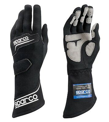Sparco Rocket RG-4 Racing Gloves Black    X-Large(12)     SFI & FIA rated   NEW