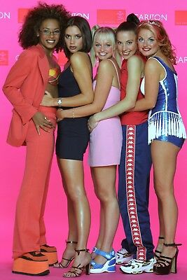 0700 Vintage Music Poster Art - The Spice Girls