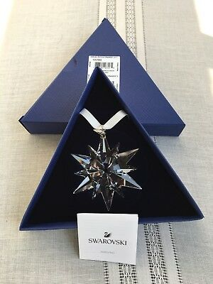 2017 SWAROVSKI Crystal Annual Edition Large Christmas Ornament 5257589 NIB