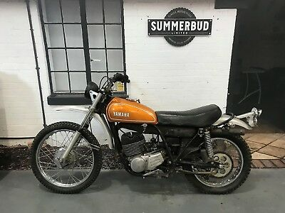 YAMAH DT250 1974 Barn Find Project Restoration Spares or Repair US Import